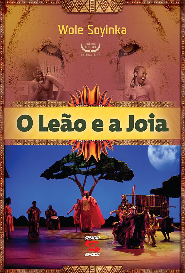 """Resultado de imagem para """"O leão e a Joia"""", de Wole Soyinka"""
